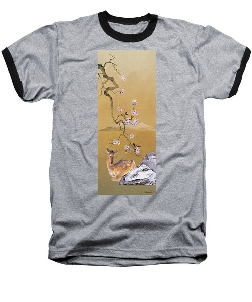 Enchanted Doe Baseball T-Shirt
