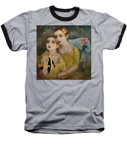 Enchanted Elephant Baseball T-Shirt