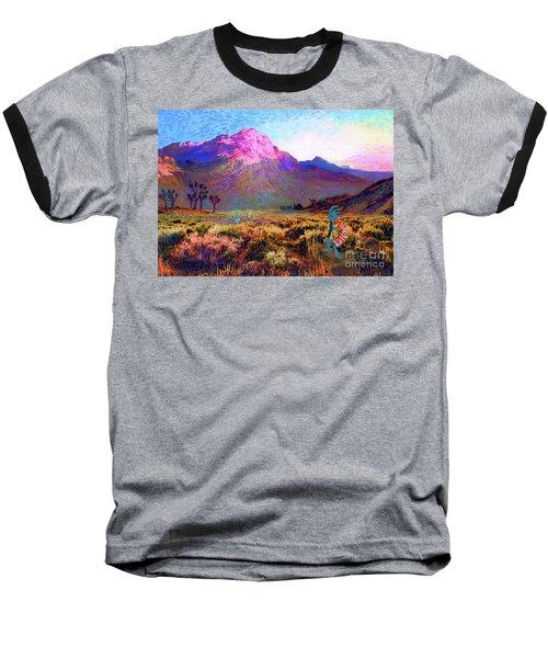 Enchanted Kokopelli Dawn Baseball T-Shirt