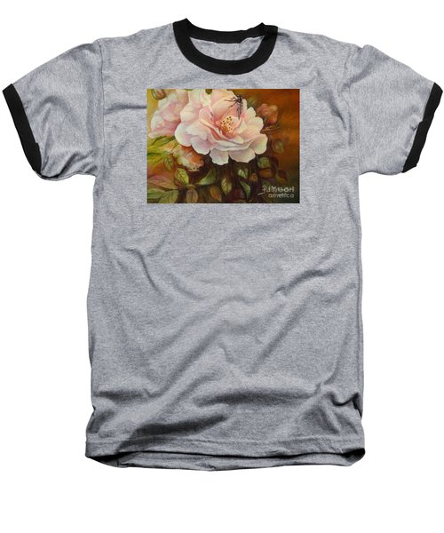 Baseball T-Shirt featuring the painting Enchanted by Patricia Schneider Mitchell