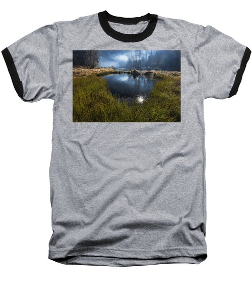 Enchanted Pond Baseball T-Shirt