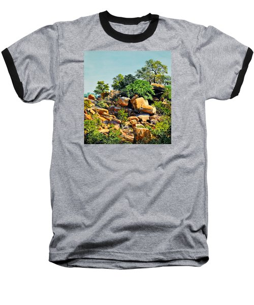 Enchanted Rock Baseball T-Shirt