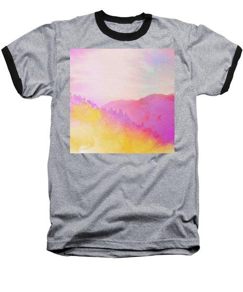 Enchanted Scenery #2 Baseball T-Shirt by Klara Acel