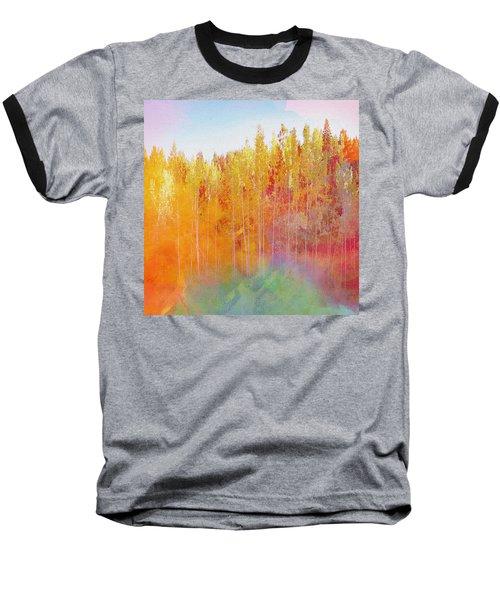 Enchanted Scenery #3 Baseball T-Shirt by Klara Acel