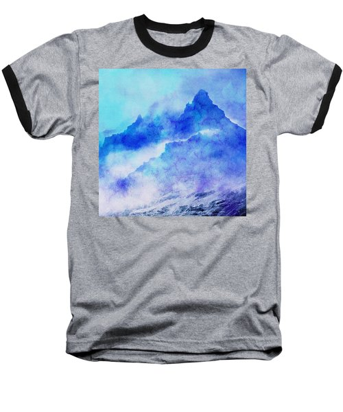 Enchanted Scenery #4 Baseball T-Shirt by Klara Acel