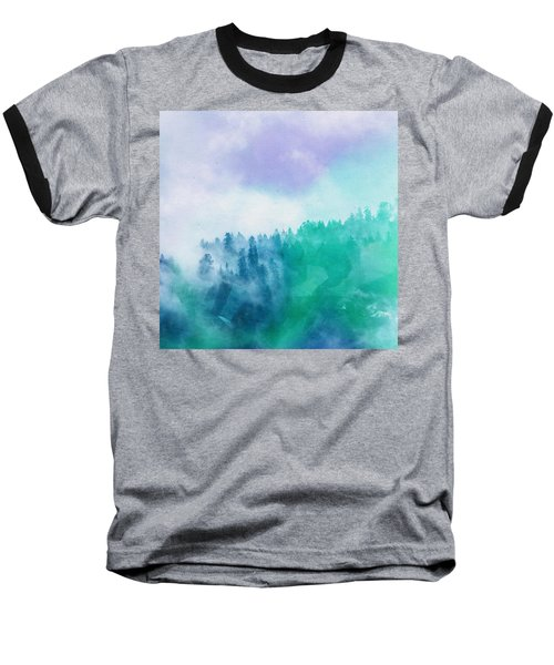 Baseball T-Shirt featuring the photograph Enchanted Scenery by Klara Acel