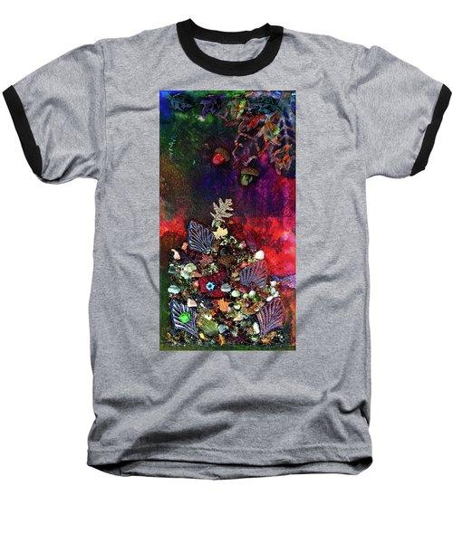 Enchanted Twilight Baseball T-Shirt by Donna Blackhall
