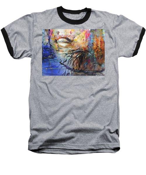 Enchanted Waters Baseball T-Shirt by P Anthony Visco