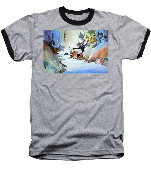 Enchanted Wilderness Baseball T-Shirt by P Anthony Visco