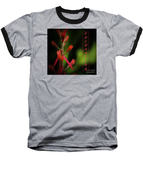 Baseball T-Shirt featuring the photograph Enchanting by Pamela Blizzard