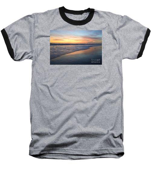 Encinitas Blue  Baseball T-Shirt