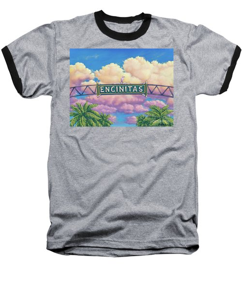 Encinitas Sunset Baseball T-Shirt