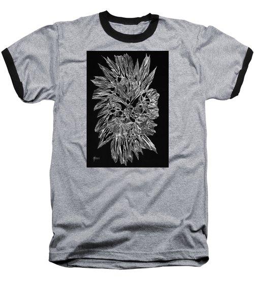 Encirclement Baseball T-Shirt by Charles Cater