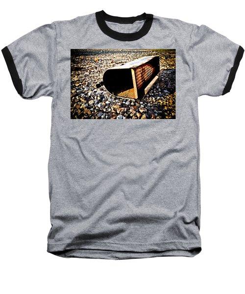 End Of An Era Baseball T-Shirt by Sennie Pierson