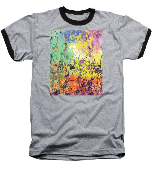 Baseball T-Shirt featuring the digital art End Of Summer 2015 by Trilby Cole