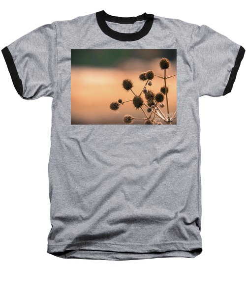 Baseball T-Shirt featuring the photograph End Of Summer by Lisa L Silva