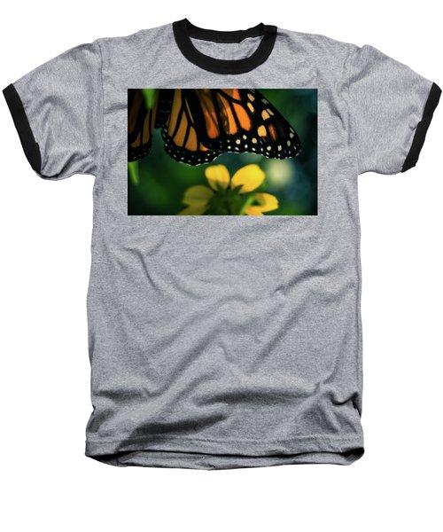 End Of Summer Monarch Baseball T-Shirt
