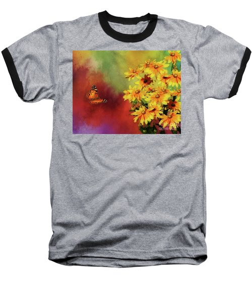 End Of Summer Baseball T-Shirt by Suzanne Handel
