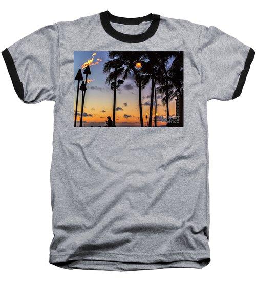 End Of The Beutiful Day.hawaii Baseball T-Shirt