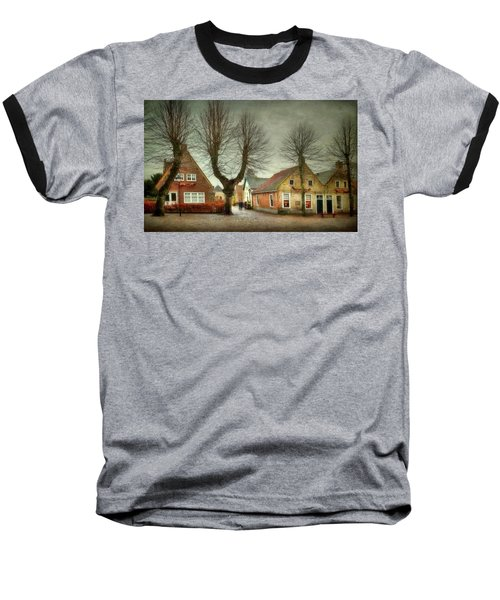 End Of The Day Baseball T-Shirt by Annie Snel