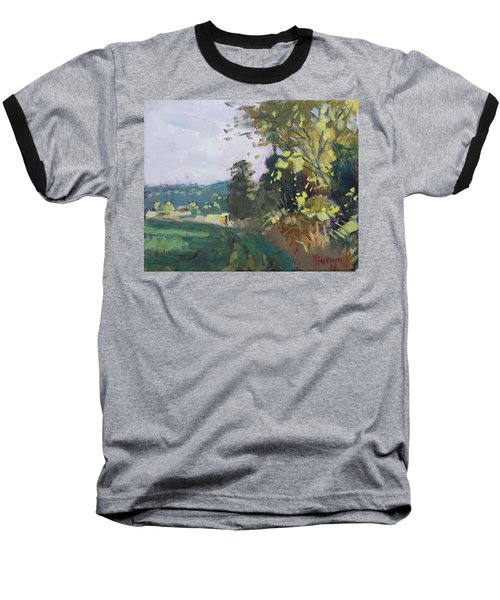 End Of The Day In The Farm  Baseball T-Shirt