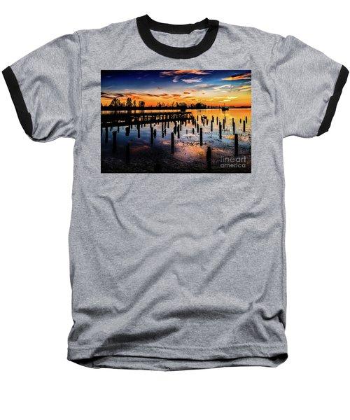 End Of The Fishing Day Baseball T-Shirt