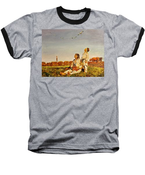End Of The Summer- The Storks Baseball T-Shirt