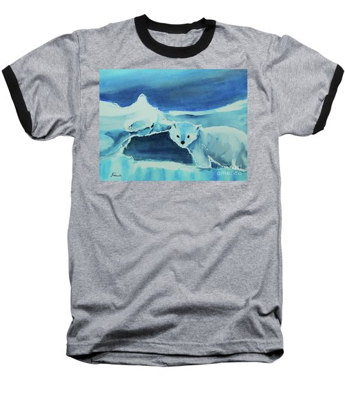 Endangered Bears Baseball T-Shirt