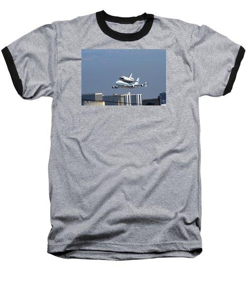 Endeavous Final Flight Lax Baseball T-Shirt