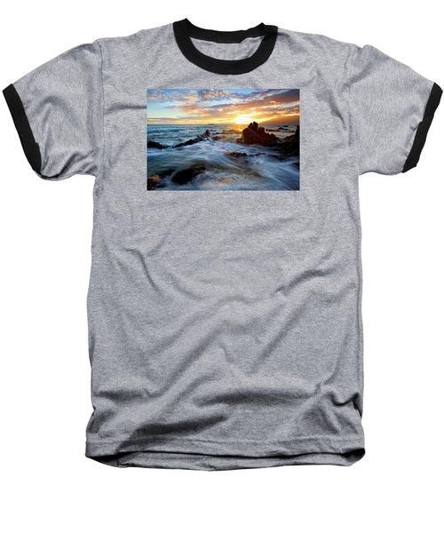 Endless Ocean Baseball T-Shirt by James Roemmling