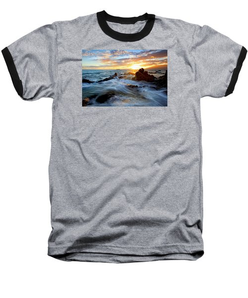 Endless Ocean Baseball T-Shirt