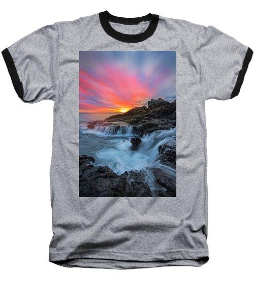 Endless Sea Baseball T-Shirt by James Roemmling