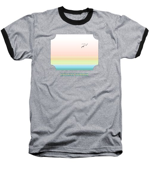 Endless Summer - Pink Baseball T-Shirt
