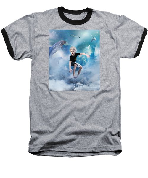 Endless Wave Baseball T-Shirt