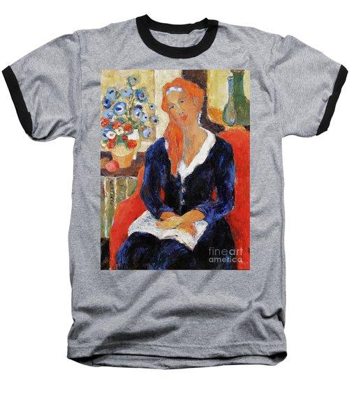 Endurance Baseball T-Shirt by Becky Kim