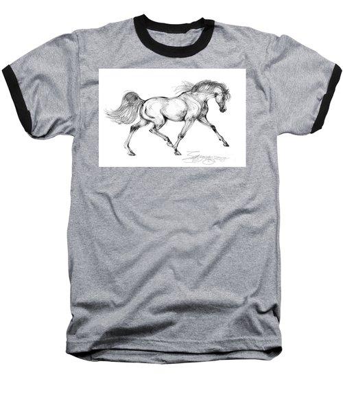 Endurance Horse Baseball T-Shirt