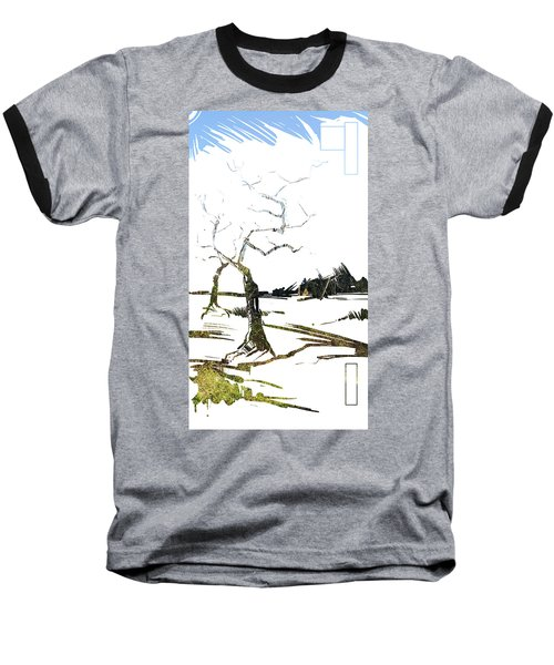 Energy . Tree Baseball T-Shirt