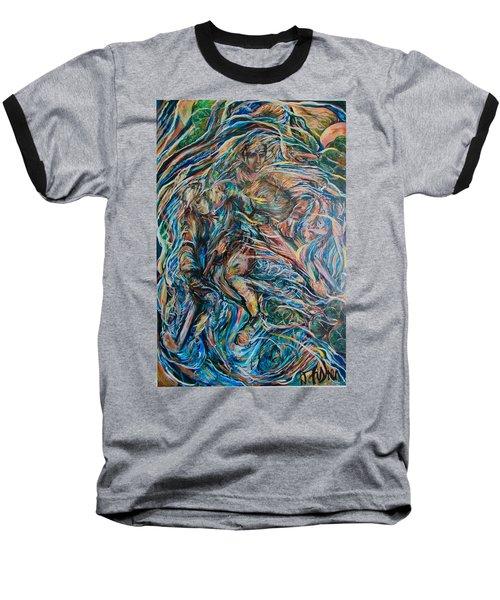 Energy Baseball T-Shirt by Dawn Fisher