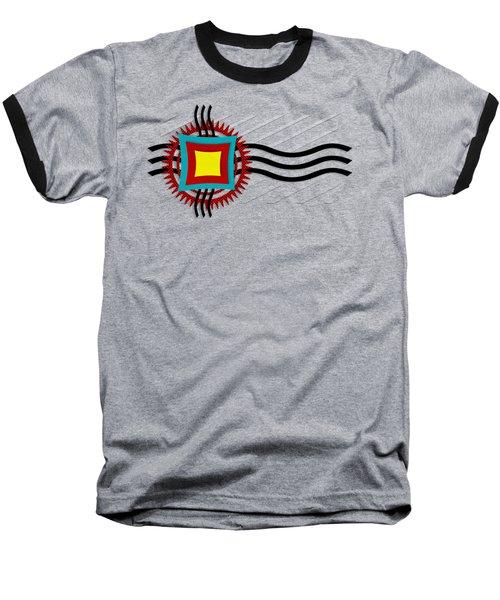 Energy Flow Baseball T-Shirt by Shawna Rowe