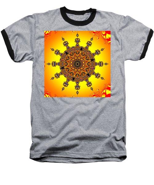 Baseball T-Shirt featuring the digital art Energy Star by Robert Orinski