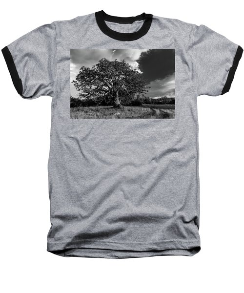 Engellman Oak Palomar Black And White Baseball T-Shirt