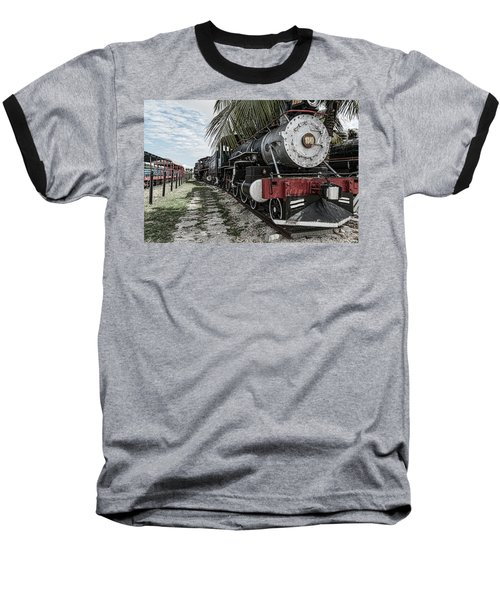 Engine 1342 Parked Baseball T-Shirt