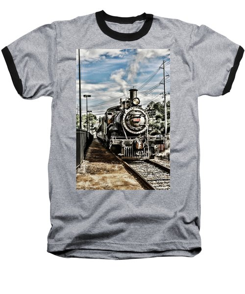 Engine 154 Baseball T-Shirt