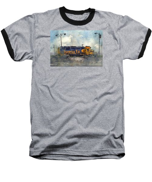 Baseball T-Shirt featuring the painting Engine 3166 by Tim Oliver