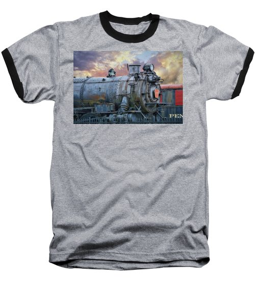 Baseball T-Shirt featuring the photograph Engine 3750 by Lori Deiter