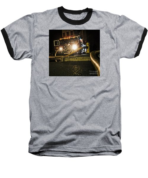 Baseball T-Shirt featuring the photograph Engine 4 by Jim Lepard