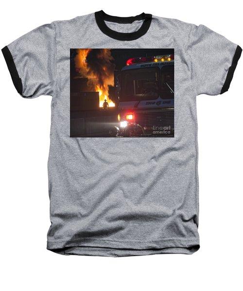 Engine 6 Baseball T-Shirt