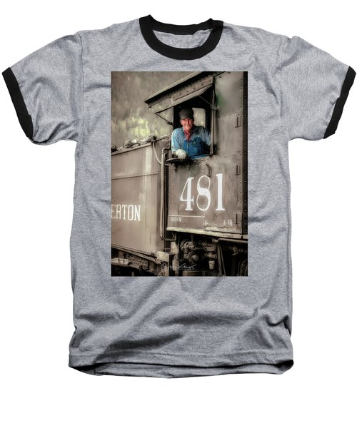 Engineer 481 Baseball T-Shirt