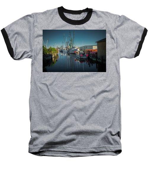 Englehardt,nc Fishing Town Baseball T-Shirt
