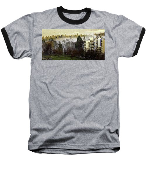 English Bay Fog #2 Baseball T-Shirt